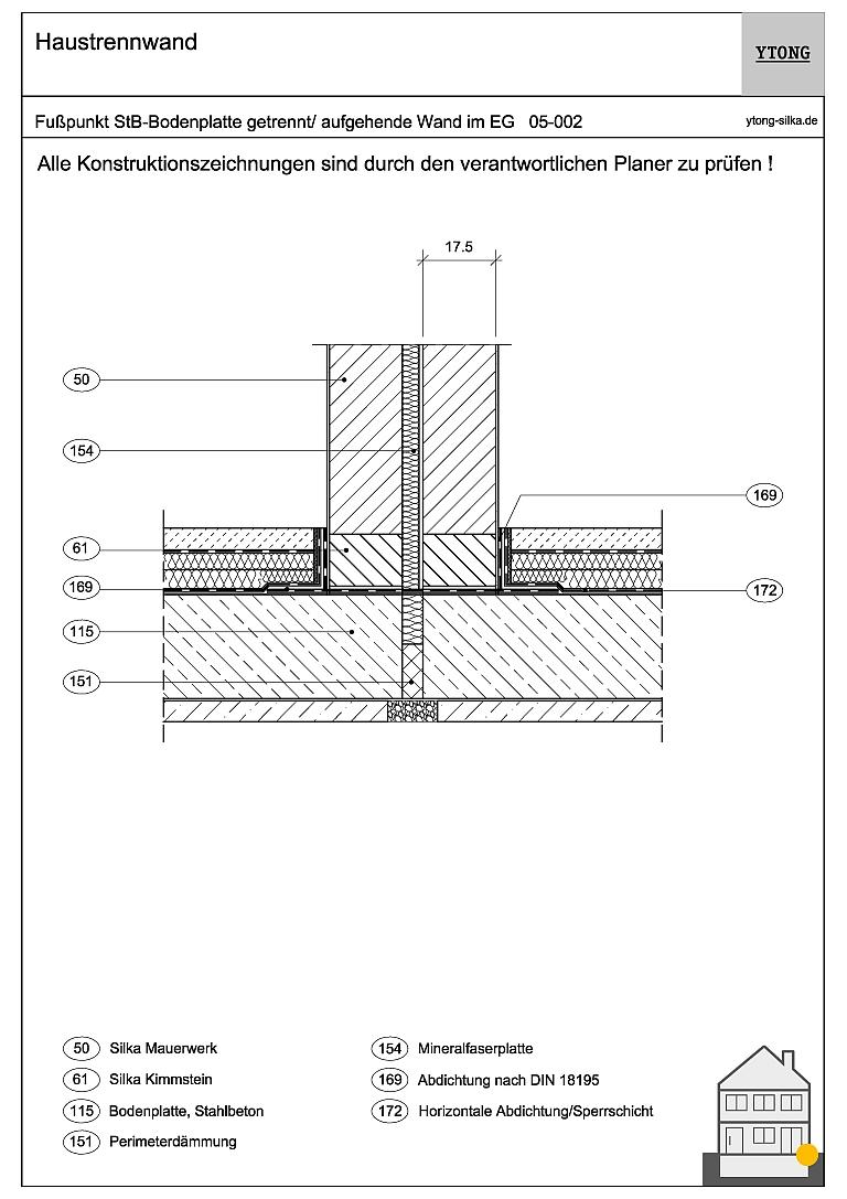 Nicht unterkellertes Gebäude 05-002
