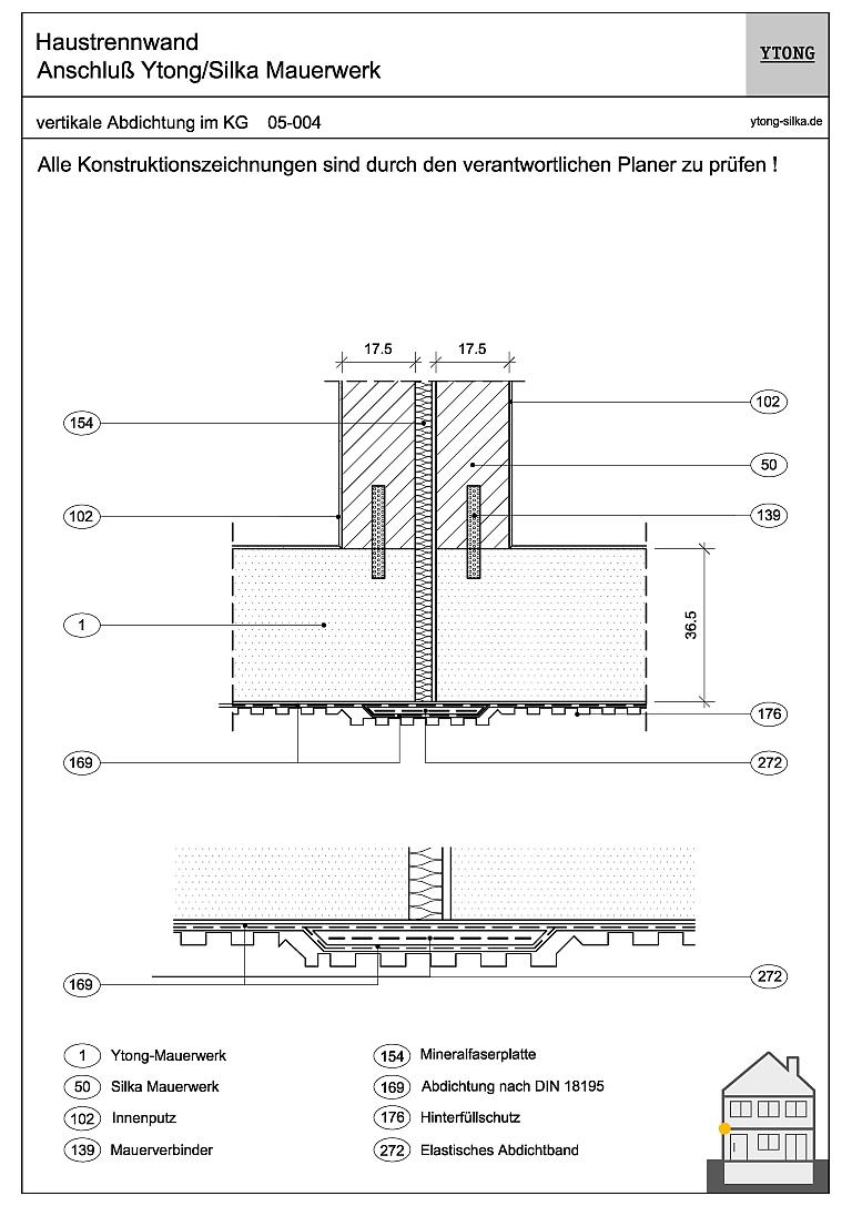 KG: Monolithisches Mauerwerk 05-004