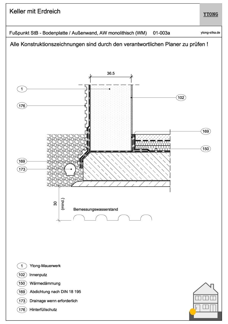 Monolithisches Mauerwerk 01-003a