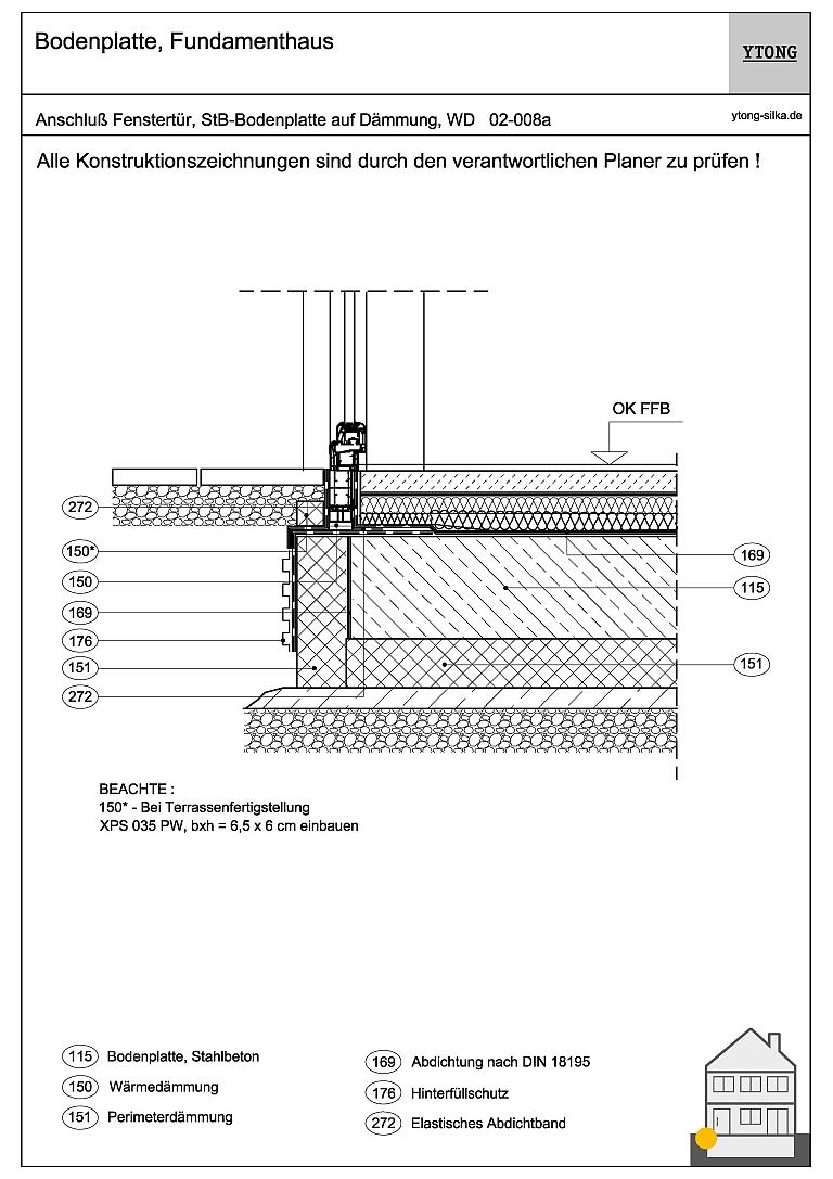 Bodenanschluss Fenstertür (1) 02-008a