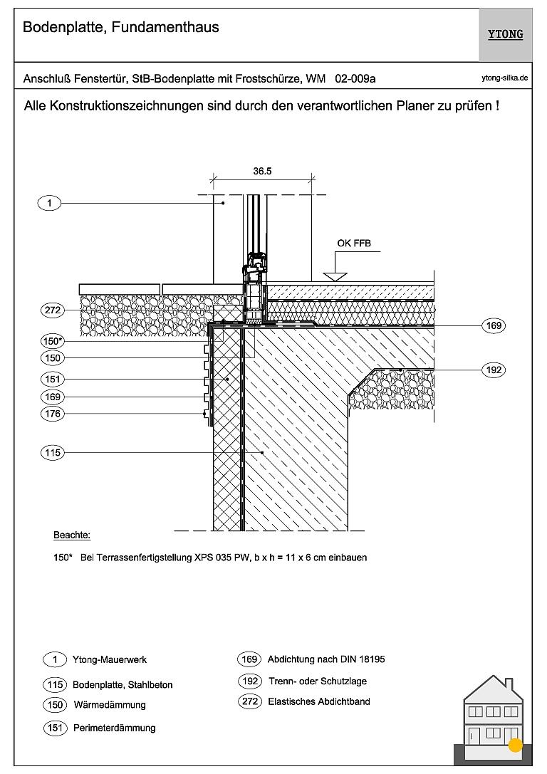 Bodenanschluss Fenstertür (2) 02-009a