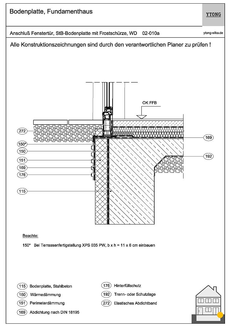 Bodenanschluss Fenstertür (2) 02-010a