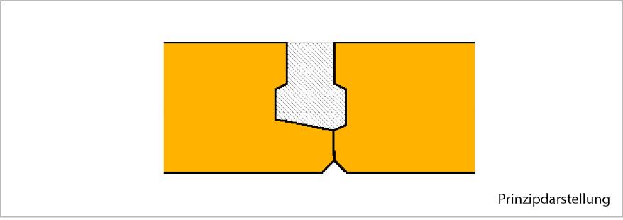 Abb 1: Profilierte Fugenausbildung von Ytong Dach- und Deckenelementen