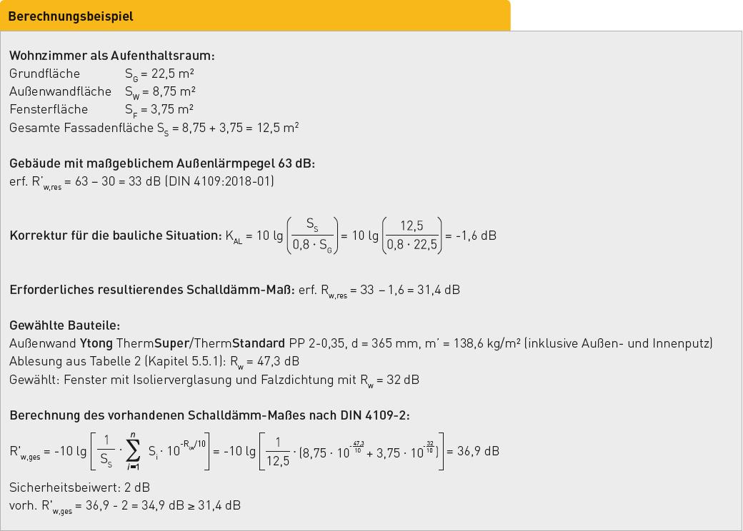 Berechnungsbeispiele Xella